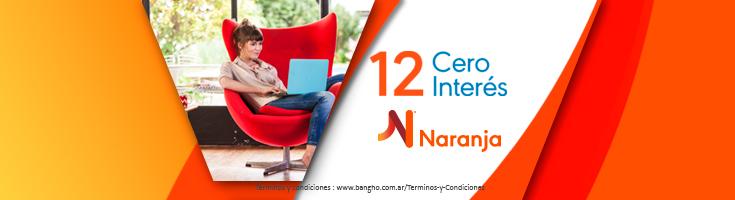 Naranja 12 s/interés PREFOOTER