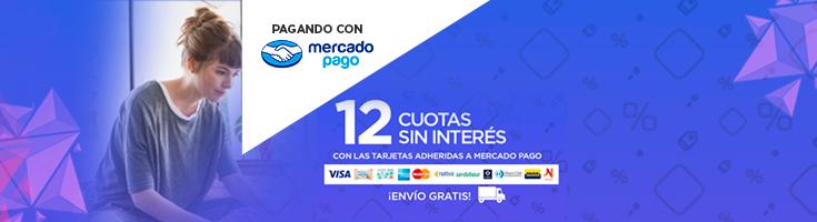 MercadoPago 12 s/interés PREFOOTER