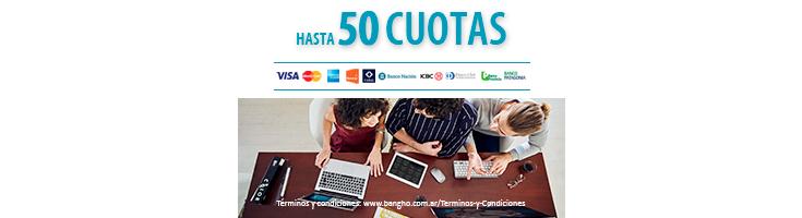 Hasta 12 cuotas - TodoPago / MercadoPago