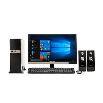 Pc completa cross b02 r5 gaming 8g con monitor