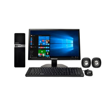 Pc completa cross b02 i5 monitor teclado